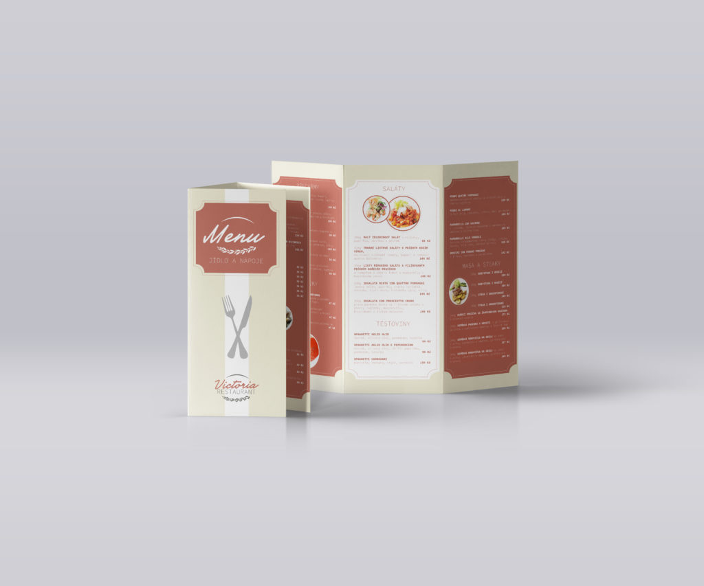 Restaurace menu Tri Fold Mockup US A4 Vol4 1
